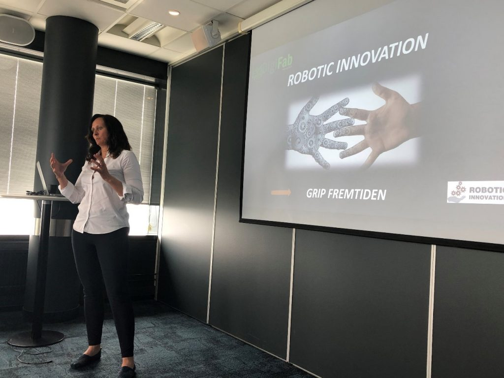 Robotic Innovation, Annette Anfinsen