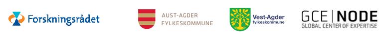 Forskningsrådet, Aust-Agder Fylkeskommune, Node, Vest-Agder